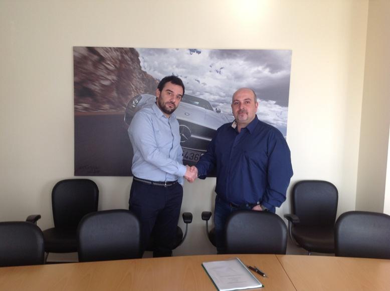 Εξουσιοδότηση της εταιρείας μας από την Mercedes-Benz Hellas